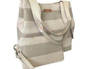 Tori Tote Bag and Clutch PDF Sewing Pattern, Diaper Bag Set, Easy Sewing Pattern for Bag and Clutch