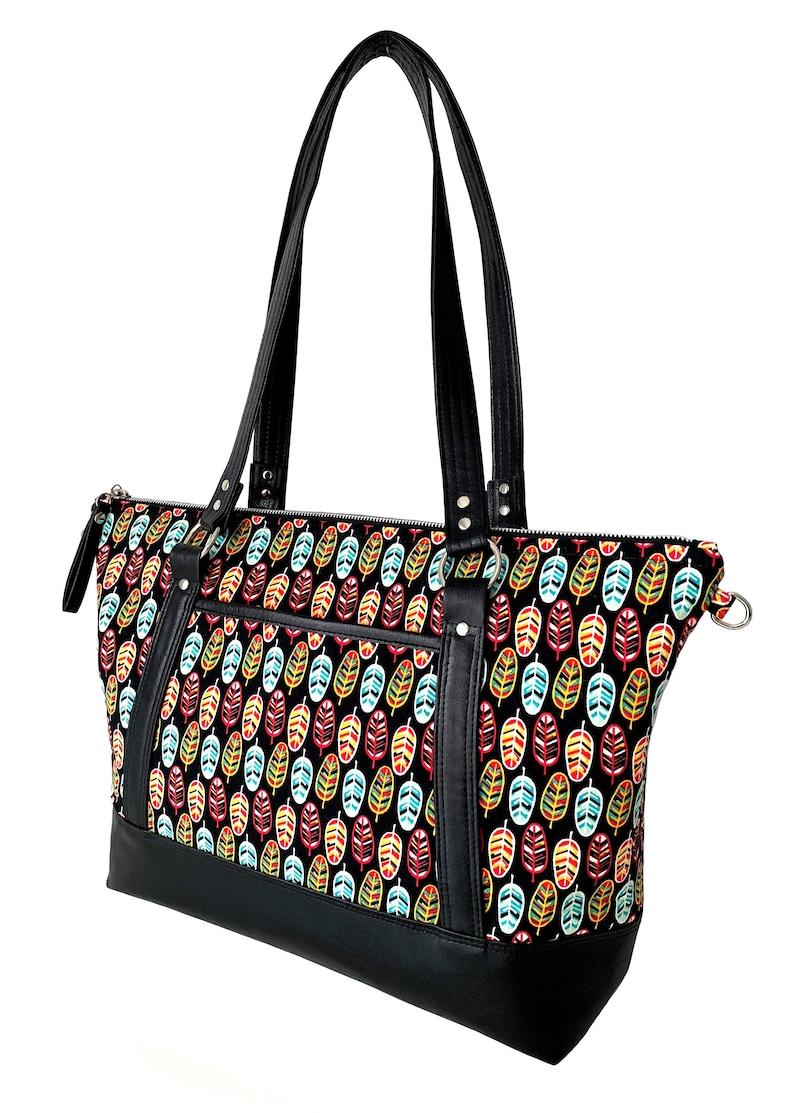 6c646bae67b7a5 Traveler Tote Bag PatternPurse PatternTote PatternTravel | Etsy