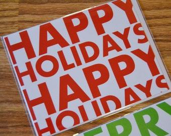 Happy Holidays / Holiday / Christmas Note Card