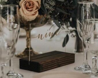 Wedding Table Numbers - Table Numbers 1-14 - Table Numbers - Table Numbers Wedding - Rustic Table Numbers - Winter Wedding - Fall Wedding