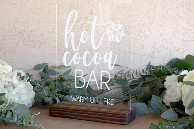 Cool Hot Cocoa Sign Hot Chocolate Bar Sign Winter Wedding Decor Hot Chocolate Bar Wedding Sign Wedding Hot Cocoa Hot Cocoa Bar Sign Download Free Architecture Designs Remcamadebymaigaardcom
