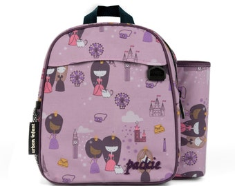 Preschool/Daycare Backpack with Art Silo - VIOLET