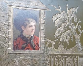Victorian Autograph / scrapbook - Strange Familiars Curiosity of the Week #12