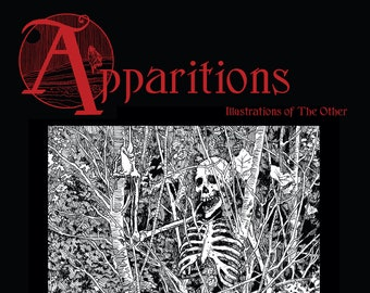 APPARITIONS - art book by Timothy Renner - bigfoot - Sasquatch - ghosts - undead - cryptids - Mothman