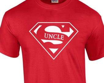 Uncle Shirt, Super Hero Uncle Shirt- 360