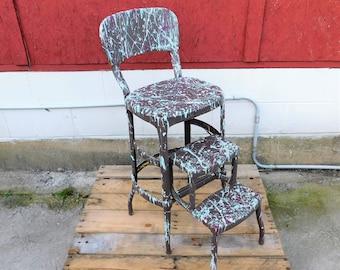 Strange Cosco Step Stool Etsy Uwap Interior Chair Design Uwaporg