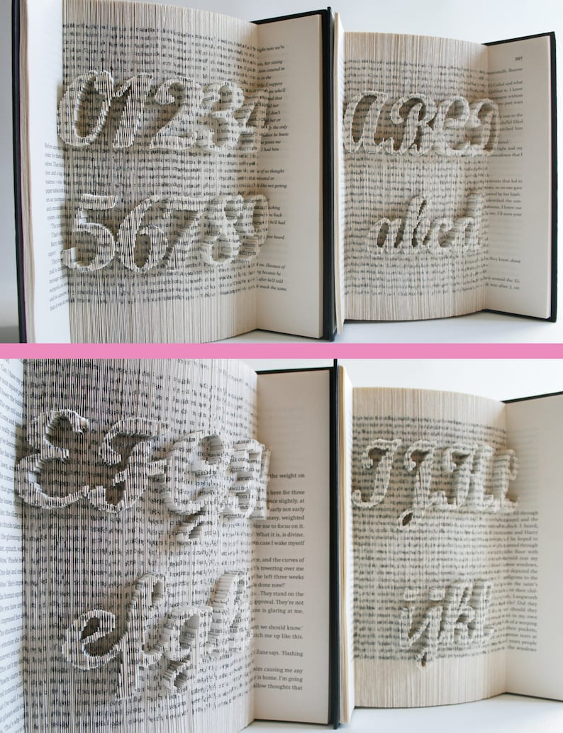 Alphabet Numbers Punctuation cut and fold pattern plus full image 0