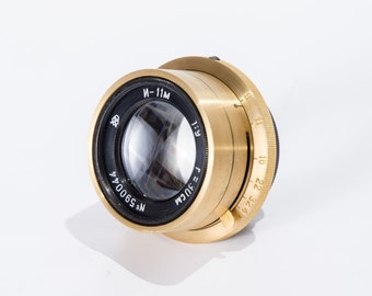 Industar 11 M Lens for Wooden Camera Large Format I-11M 1 : 9 F = 30cm 300mm Ready for Shooting