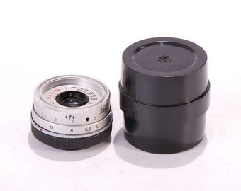 M39 Screw Mount Metal Lens Rear Cap for Leica Chrome SM