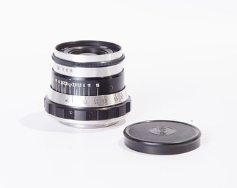 INDUSTAR 61 USSR M39 Zebra Lens f2.8 52mm Leica FED Zorki Fully Working Mint condition