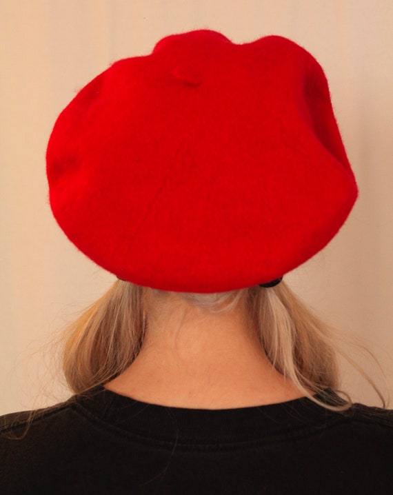 Classic Red Beret Parisian Hat/Cap/Beanie/Festival