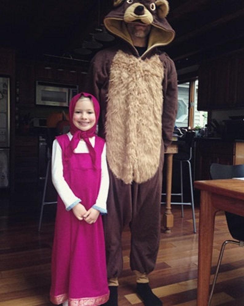 Original Masha Costume Halloween Kostüm Verkleiden Etsy