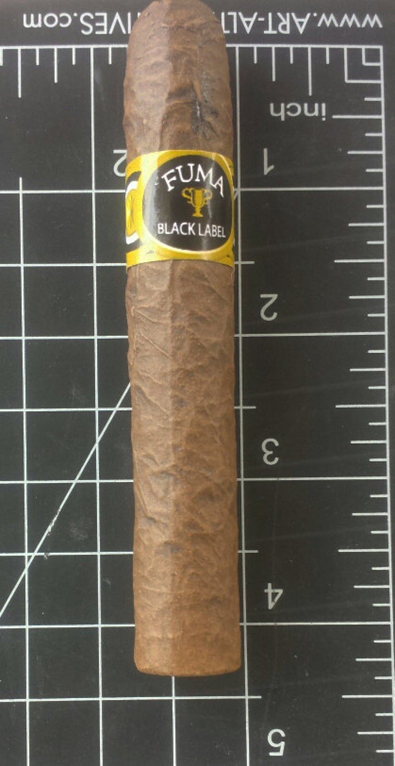 Mid-Roth Ceramic Cigar Pipe 4.25 image 0