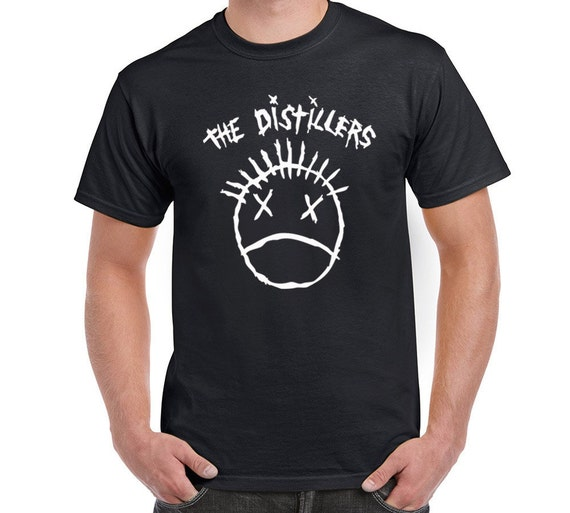 THE DISTILLERS Sing Sing Death House Punk Rock Men/'s Black T-Shirt Size S to 3XL