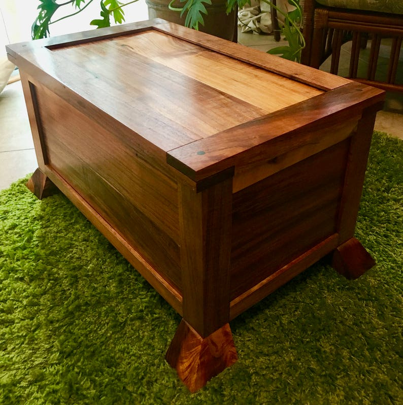 Hawaiian Koa Treasure Chest  For Donnie image 0
