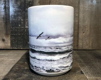 15oz Lake Michigan Coffee Mug 15oz Cozy Cup