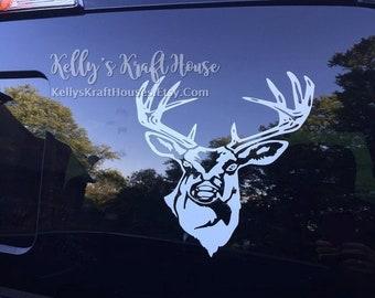 i like my deer like i like my women vinyl decal horny sticker hunting sticker
