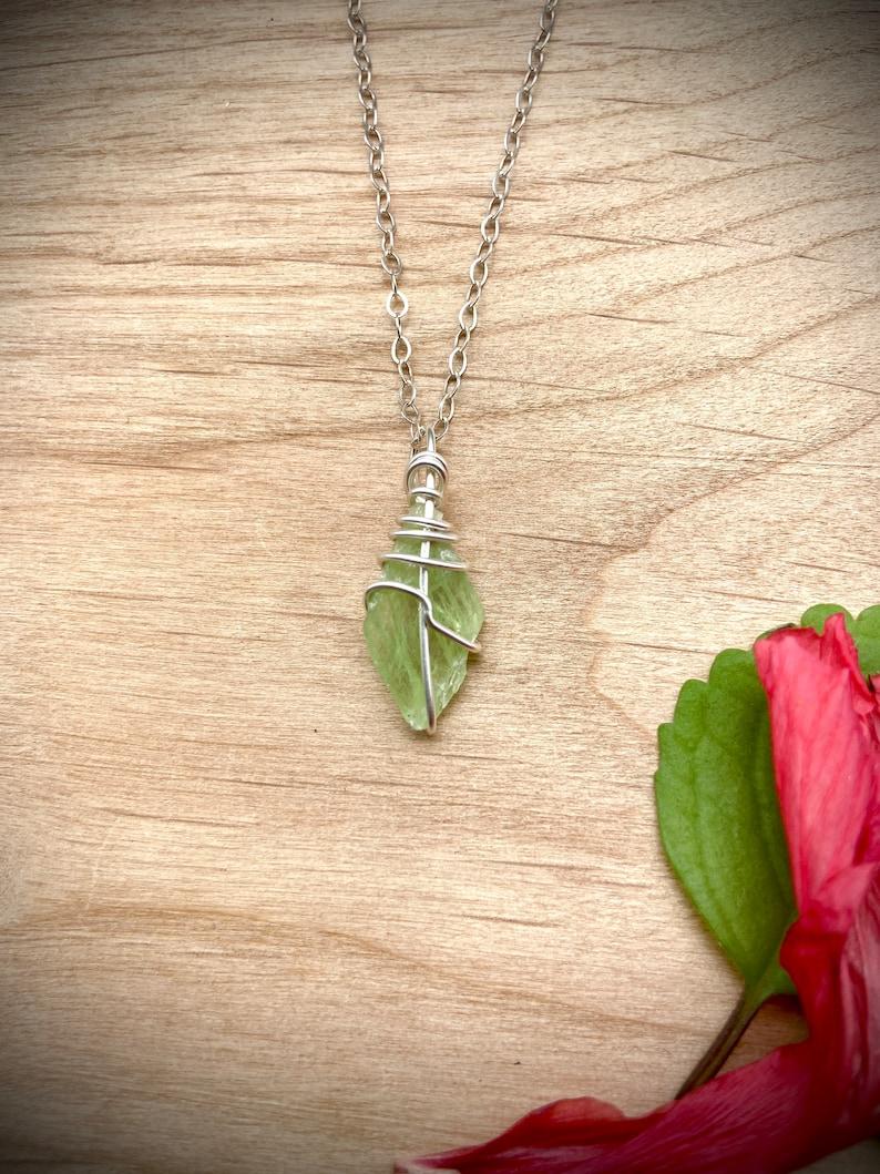 Kyanite Specimen Kyanite Crystal Kyanite Pendant Boho Kyanite Jewelry Raw Kyanite Kyanite Necklace Kyanite Stone Green Kyanite