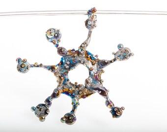 Virologi. 2. Original Titanium Pendant, Pure Titanium, Art Welding. Made in Finland