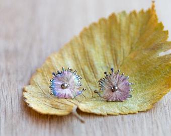 Hedgehogs. Welded Titanium Earrings. Unusual Stud. Hypoallergenic. Biocompatible Pure Titanium. Made in Finland. 2020