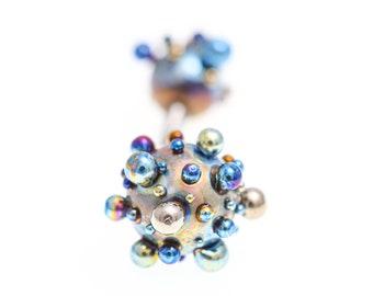 Titanium Straight Barbell 14G, Titanium Nipple Bars, Tongue Barbells, Body Jewelry Piercings, 100% Hypoallergenic, Made in Finland