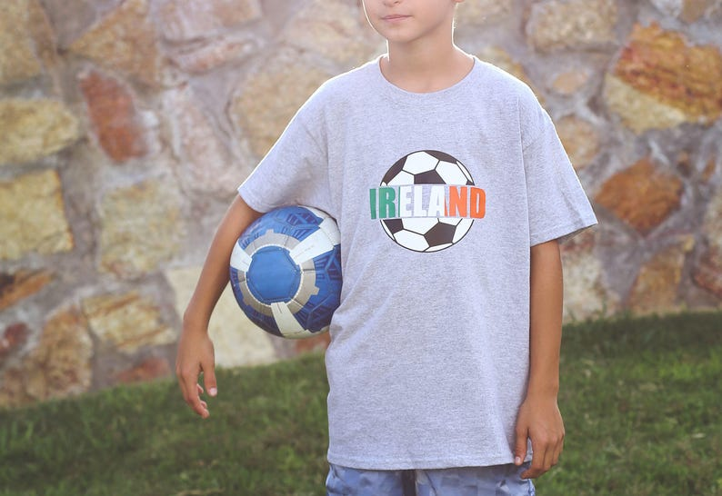 Etsy & European Soccer Team Shirts For Boys - Cool Gift Ideas For Him - Boys Soccer Gift - Ireland - Unique Christmas Gifts For Toddler Boys