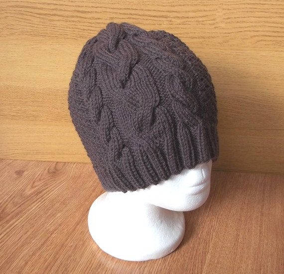 Brown Wool Winter Accessory For Him