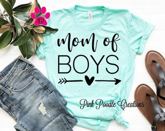 d411a7820 Mother of Boys, Boy Mama, Boy Mom Shirt, Mom Gift, Mom of Boys, Boy Moms  Top, Boy Mama, Boy Mama Gift, Mom Shirt, Mom Top, Mom Gift, Mom
