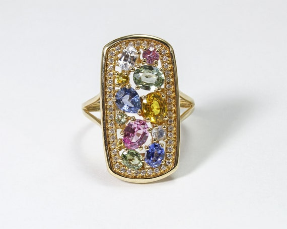 Candy Dreams - Multistone Ring