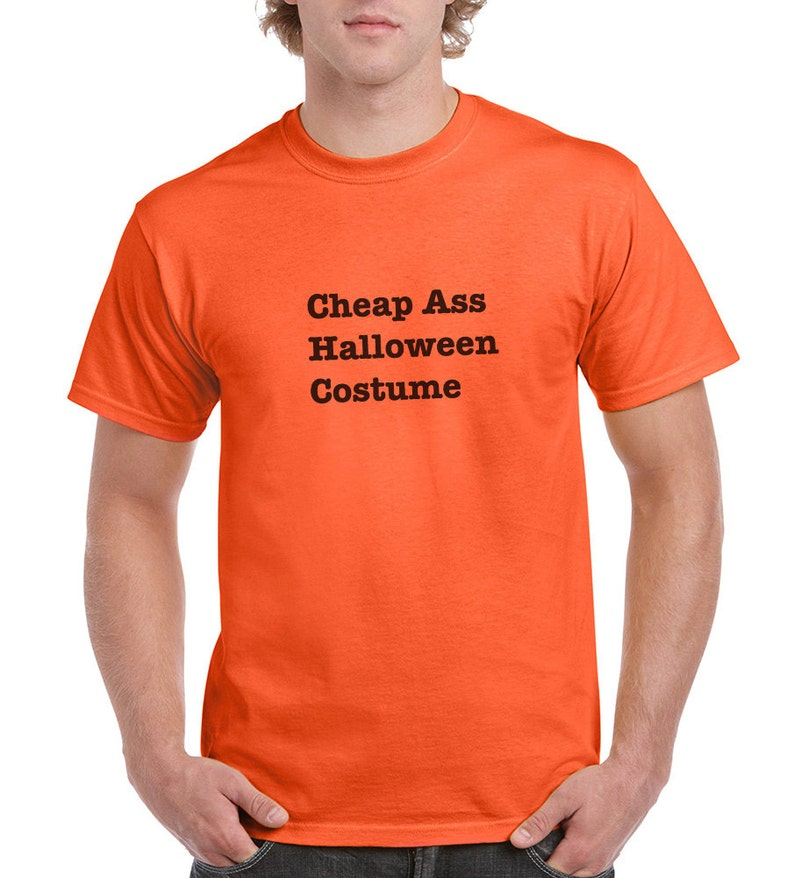c0927678630d Cheap Ass Halloween Costume Funny T-Shirt or Tank Gift   Etsy