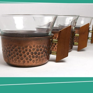 Made in France 1960s Divided Glass Dish w Pressed Radial Pattern in Smoked Brown Veropa Glassware