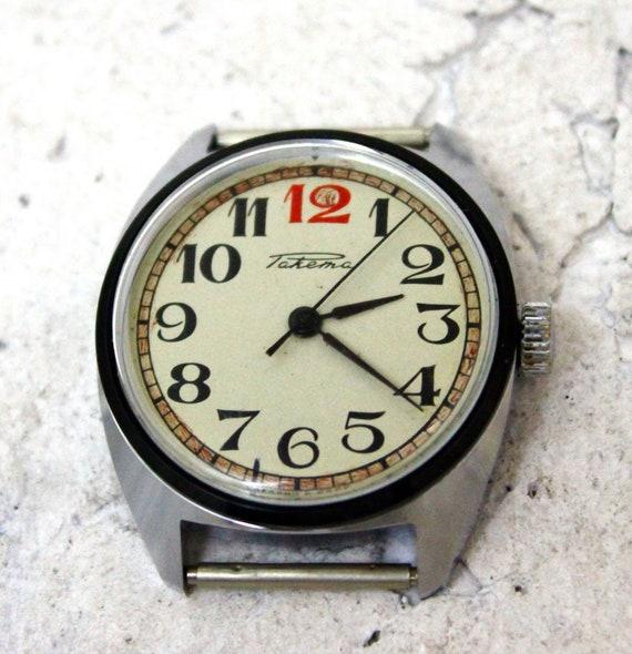 Men's Vintage Watch | Raketa watch | Rocket watch