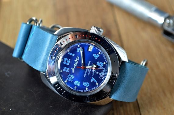 Men's Vintage Watch | Vostok Amphibia Watch | Sovi