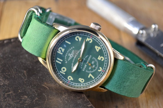Men's Vintage Watch | Shturmanskie Watch | Pobeda
