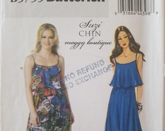 Butterick 5755 Ladies Dress Sizes 6-8-10-12-14