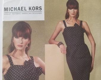 Vogue V1176 Misses Dress and Belt Pattern Sizes 16-18-20-22 UNCUT