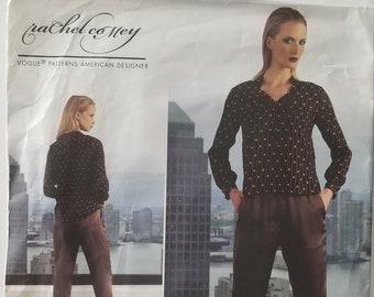 Vogue V1323 Pants and Top Pattern Size 8-10-12-14-16 UNCUT
