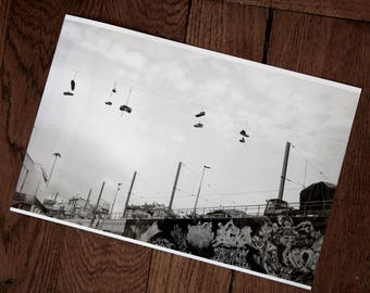 Photo black and white Marseille