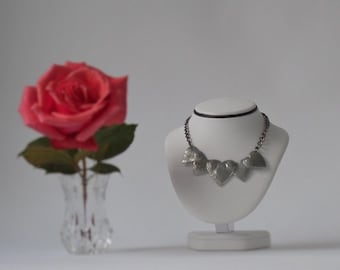 Five  Hearts Necklace