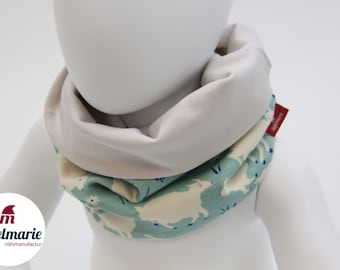 Baby & Children's Loop from Jersey   100% cotton   For boys and girls:   with sheep Zipfelmarie
