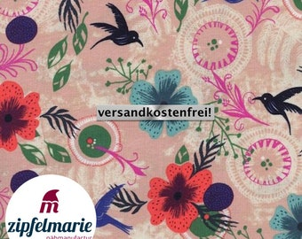 Art Gallery Cotton Fabric - Birds | Zipfelmarie