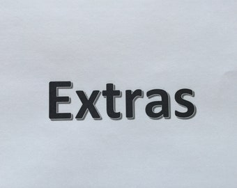 Book extras