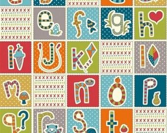 Birch Fabric Organic Cotton Fabric GOTS | Patch Letters | Zipfelmarie