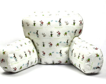Seat cushions for strollers   With Animals   Zipfelmarie