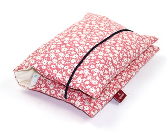 Diaper bag for babies made of 100% cotton | For boys and girls: With flowers | Zipfelmarie