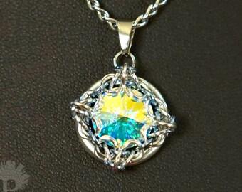 Ice Crystal Pendant