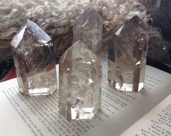 Crystal Point, Quartz Generator Crystal, Crystal Tower, Quartz Tower, Quartz Healing, Quartz Crystal, Healing Crystal, Reiki, Brazil quartz
