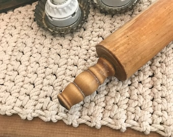 Vintage Wood Rolling Pin