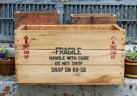 Vintage Wooden Crate SNAP ON TOOLS Coffee Table Size! Box Tool Box Shipping  Crate Industrial Decor Rustic Home Decor Huge Large Wood Box
