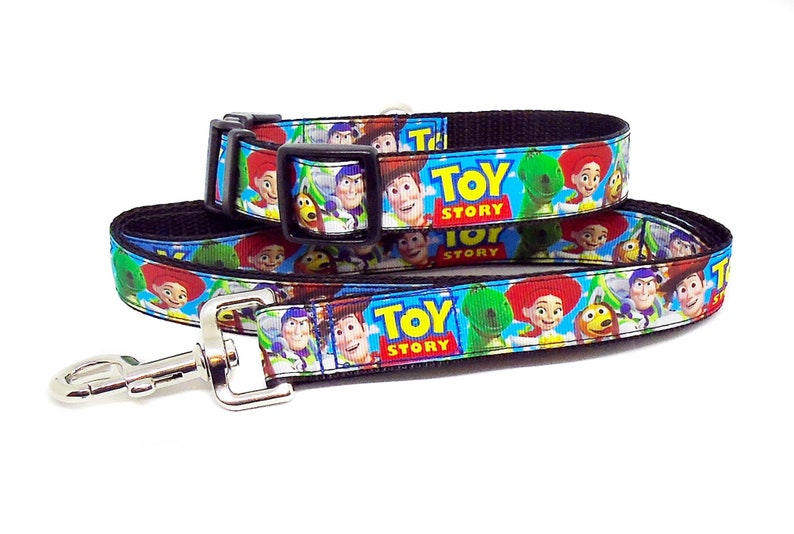Toy Story Collar and Lead Set image 0